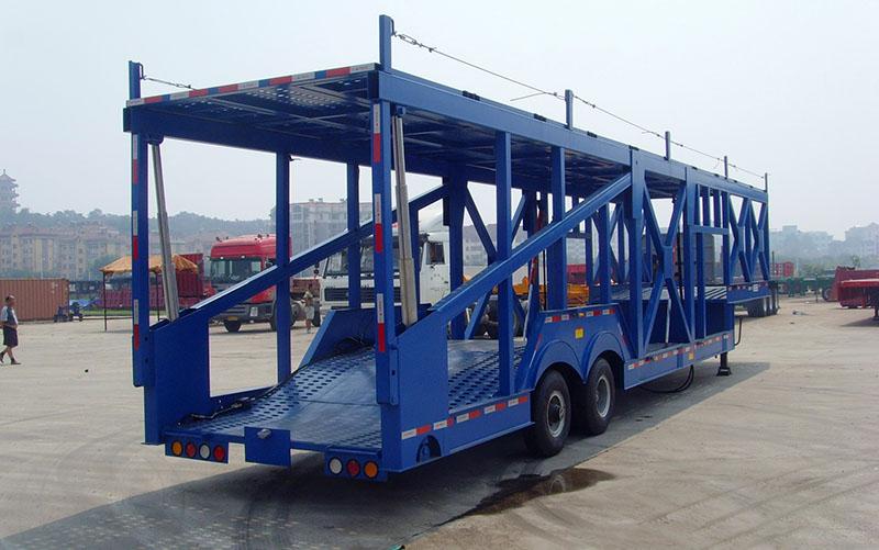 【济宁】14.2米-14.6米车辆运输半挂车 轿运车 价格7.80万 二手车