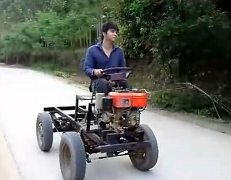 多功能农用车试验