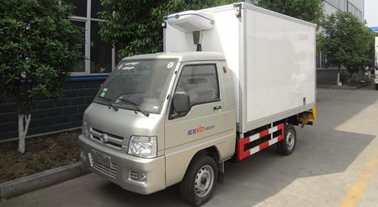 福田驭菱冷藏车 小型冷藏车中的佼佼者 销量第一