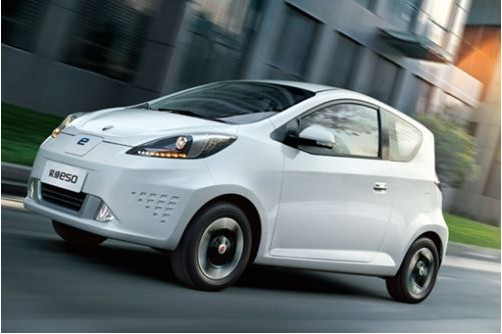 补贴政策出台后 登陆私人市场纯电动车一览