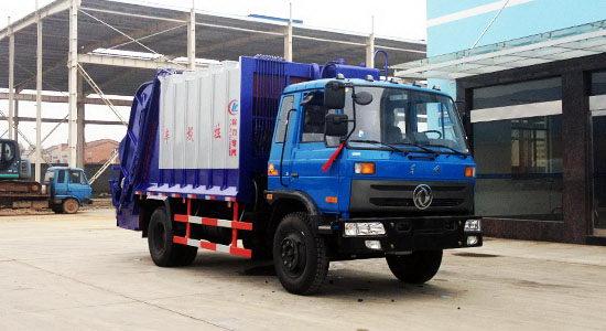 国四东风145压缩式垃圾车主要技术参数
