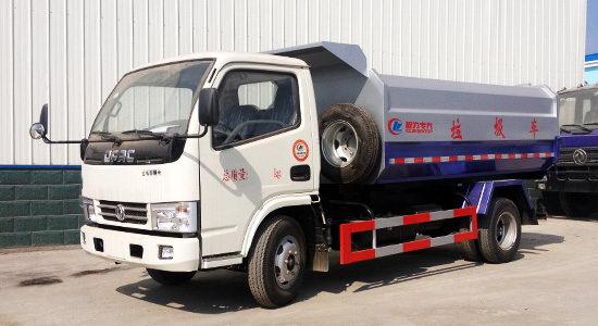 国四挂桶式垃圾车主要技术参数