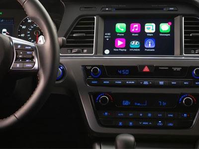 现代汽车将为2016款索纳塔采用苹果CarPlay系统