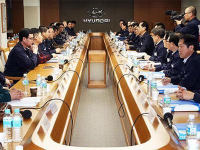 现代/韩国工会达成试验性协议 罢工危机解除
