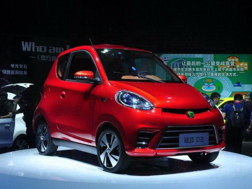售15.88万元 知豆D2电动车正式上市