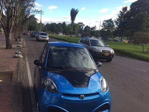 再下一城 知豆成为南美洲波哥大电动汽车租赁项目用车