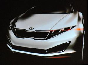 造型小改配置增加 北美车展实拍起亚K3S