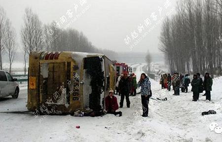 冬季恶劣天气频发,大客车驾驶人如何应对?