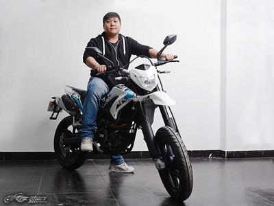 首款钱江贝纳利滑胎车强势登陆北京