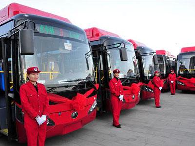广西:南宁30辆LNG新能源空调公交车投入运营