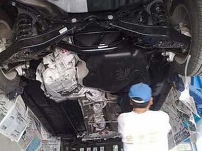 汽车底盘养护不可忽视 日常保养重点防锈