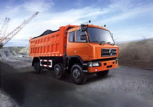 东风天龙6X4新型渣土运输车