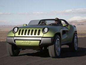 换代指南者 Jeep紧凑型SUV假想图