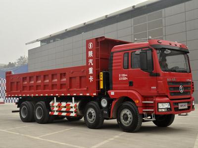 运输无忧 陕汽德龙新M3000前四后八336马力自卸车之上装篇