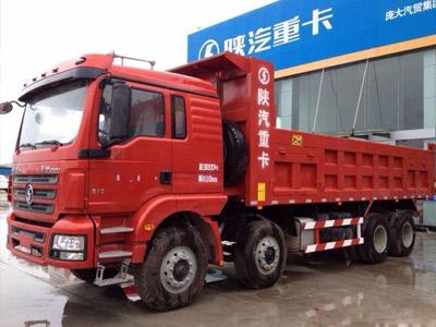 运输无忧 陕汽德龙新M3000前四后八336马力自卸车之底盘篇