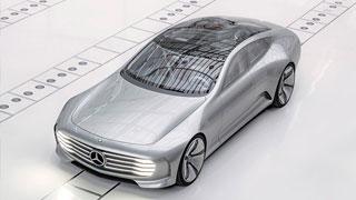 奔驰IAA概念车全方位展示