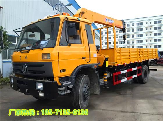 东风5吨随车吊|福田6.3吨随车起重运输车可加转全遥控自卸