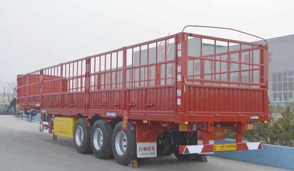 钢质半挂车仅5.68吨 九州发布新款挂车