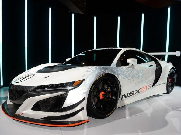 2016纽约车展:讴歌NSX GT3正式发布