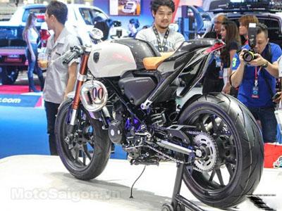 提前曝光!曼谷车展上的Honda CB300TT cafe racer