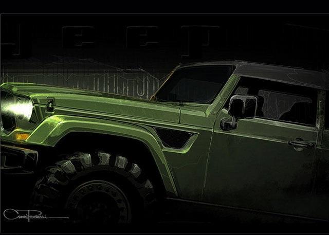 Jeep两款特别版预告图 将3月19日发布