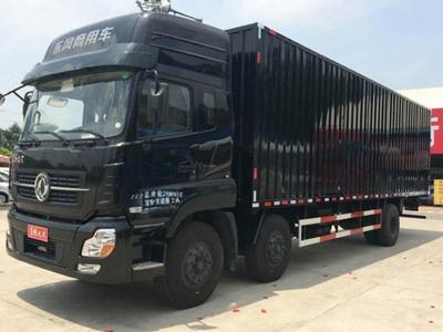 降价3.54万元 广州天龙厢式载货28.4万