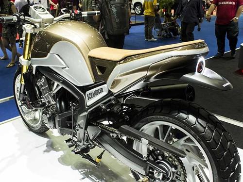 Honda CB650 Scrambler 概念车