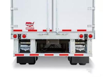 全新后防护系统 Wabash干货厢式半挂车