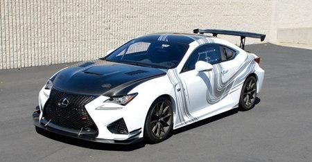 雷克萨斯RC F GT概念车首发 赛车灵感