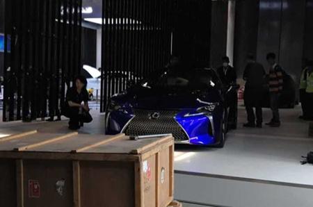 2016北京车展探馆:雷克萨斯LC500h