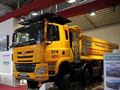 最重产品 太拖拉10x10自卸车德国首发