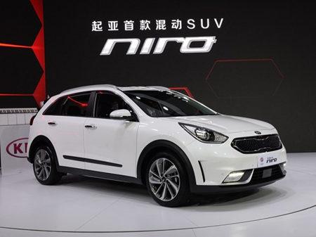 2016北京车展:全新起亚Niro混动首发