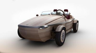 丰田推出Setsuna电动概念车 实木车身 时速28英里