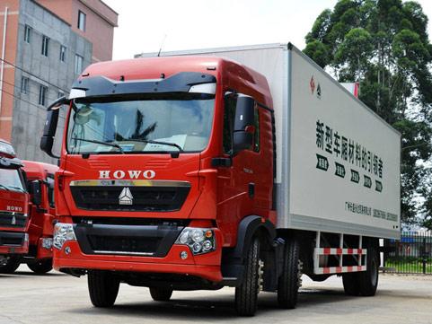 中国重汽T5G飞翼车