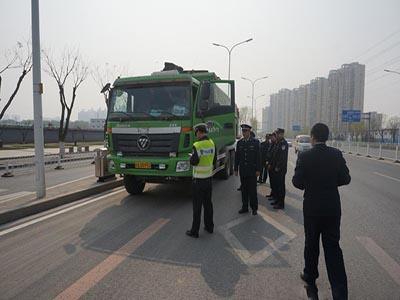 北京新一轮渣土车整改 不及格将被除名
