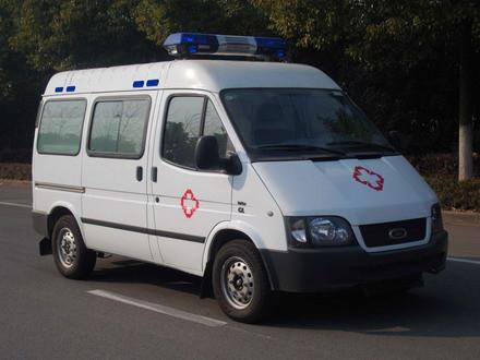 福特全顺长轴监护型救护车