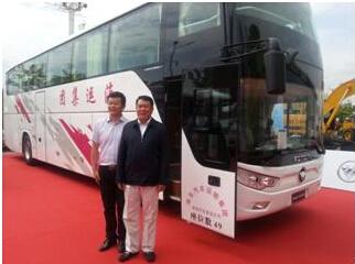 欧辉超级客车助力一带一路交通装备升级
