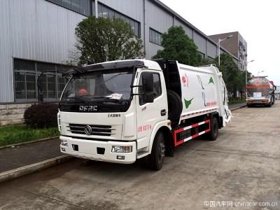高效优质,东风多利卡D7压缩式垃圾车