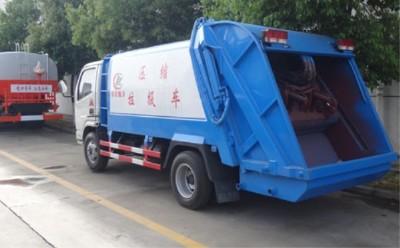 程力压缩式垃圾车特点是什么