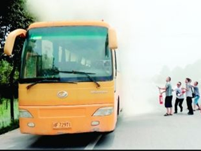 夏季大客车如何防火防自燃