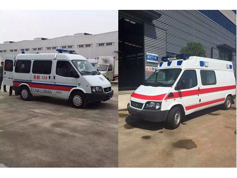 福特江铃救护车