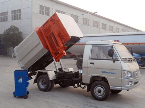 厦工楚胜为您介绍各种类型垃圾车的配置总成