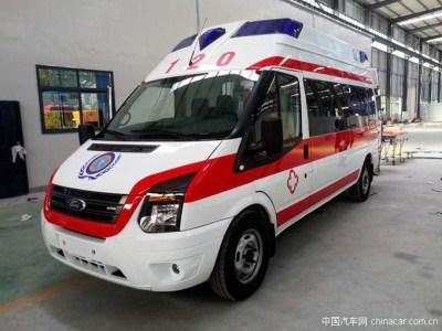抢救生命风雨无阻,新时代V348监护型救护车