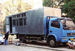报废货车成房车 这样改装不行图片