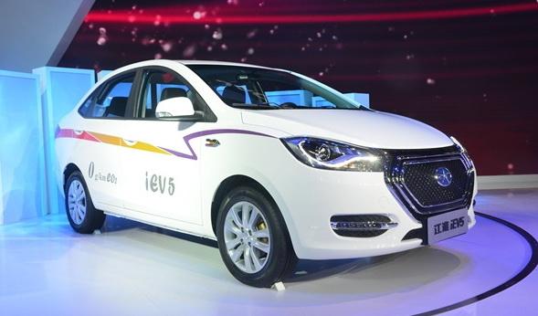 江淮iEV5纯电动汽车-超高性价比 江淮iEV5电动车上市售价8.98万元高清图片