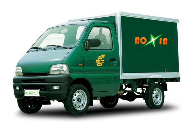 达福迪牌JAX5021XXYBEVF216LB15M2X1型纯电动厢式运输车图片3