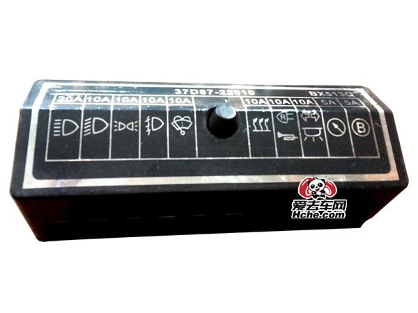 东风汽车配件 东风天龙 东风140十档熔断丝盒总成37D87-22010
