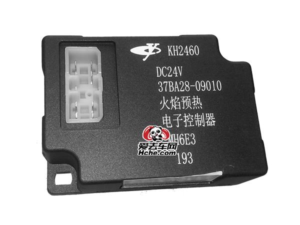 东风汽车配件 东风康明斯 玉柴发动机电喷火焰预热电子控制器37BA28-09010 KH2460