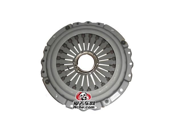 东风汽车配件 东风天龙 大力神雷诺发动机430拉式大孔离合器压盘