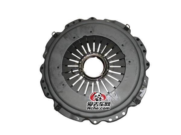 东风汽车配件 东风天龙、重汽豪沃雷诺发动机430离合器压盘1601090-T4000
